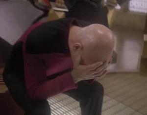 Picard er ekki sáttur